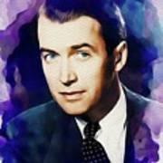 Jimmy Stewart, Vintage Movie Star Poster