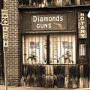 Johnson City Tennessee - Gun Shop Poster