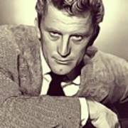 Kirk Douglas, Vintage Actor Poster