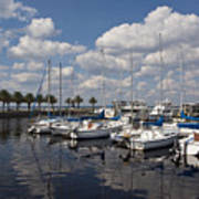 Lake Monroe At The Port Of Sanford Florida Poster
