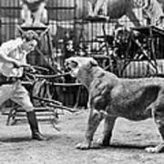 Lion Tamer, 1930s Poster