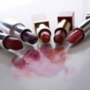 Lipsticks Poster by Bernard Jaubert