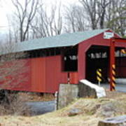 Little Gap Covered Bridge Poster