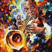 Louis Armstrong . Poster