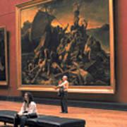Louvre Museum In Paris Poster