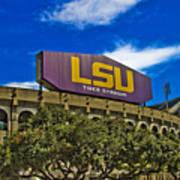 Lsu Tiger Stadium Poster