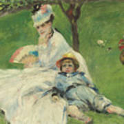 Madame Monet And Her Son Poster