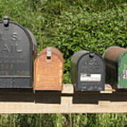 Mail Boxes  Poster