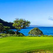 Makena Golf Course In Makena Area Poster