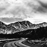Mammoth Lakes Area Of California Poster