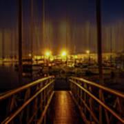 Marine At Night Poster