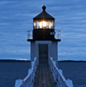 Marshall Point Light Poster