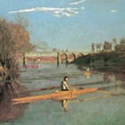 Max Schmitt In A Single Scull Poster
