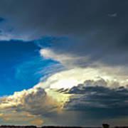 May Nebraska Storm Cells Poster