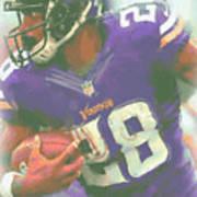 Minnesota Vikings Adrian Peterson Poster
