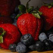 Morning Fruit Poster