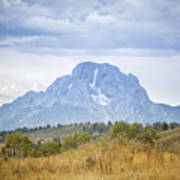 Mount Moran Poster
