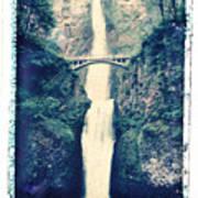 Multnoma Falls Poster by Joe  Palermo