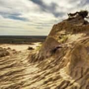 Mungo National Park, Australia Poster
