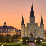 New Orleans St Louis Cathedral Poster
