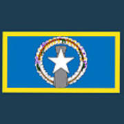 Northern Marianas Flag Poster
