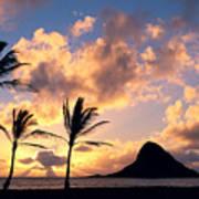 Oahu, Mokolii Island Poster