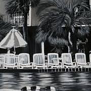 Ocean Palms  Poster