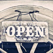 Open Sign Poster