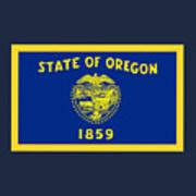 Oregon Flag Poster