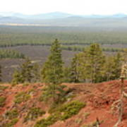 Oregon Landscape - View From Lava Butte Poster