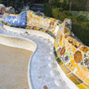 Park Guell Poster