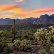 Pastel Desert Skies  Poster