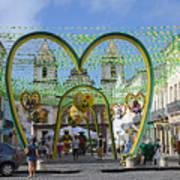 Pelourinho - The Historic Center Of Salvador Poster