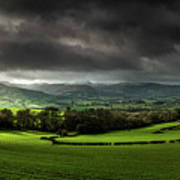 Pen Y Fan And Brecon Beacons Panorama Poster