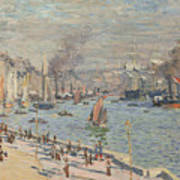 Port Of Le Havre Poster