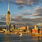 Portsmouth Harbour England  Poster