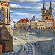 Prague Old Town Squere Poster