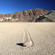 Racetrack In Death Valley National Park Poster