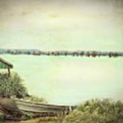 Reelfoot Lake Fishing Poster