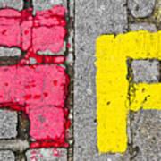 Road Markings Poster