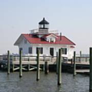 Roanoke Marshes Lighthouse Poster