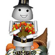 Robo-x9 The Pilgrim Poster