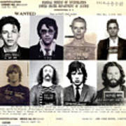 Rock And Roll's Most Wanted Poster