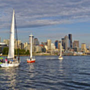 Sailing To Seattle Poster