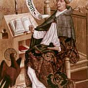 Saint Augustine (354-430) Poster