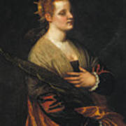 Saint Catherine Poster