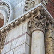 Saint Sernin Basilica Architectural Detail Poster