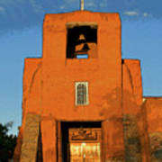 San Miguel Mission Church Poster
