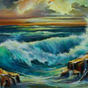 Seascape Poster