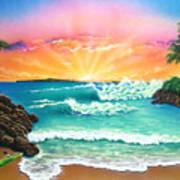 Secret Beach Poster
